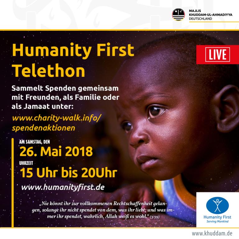 HF-telethon werbung
